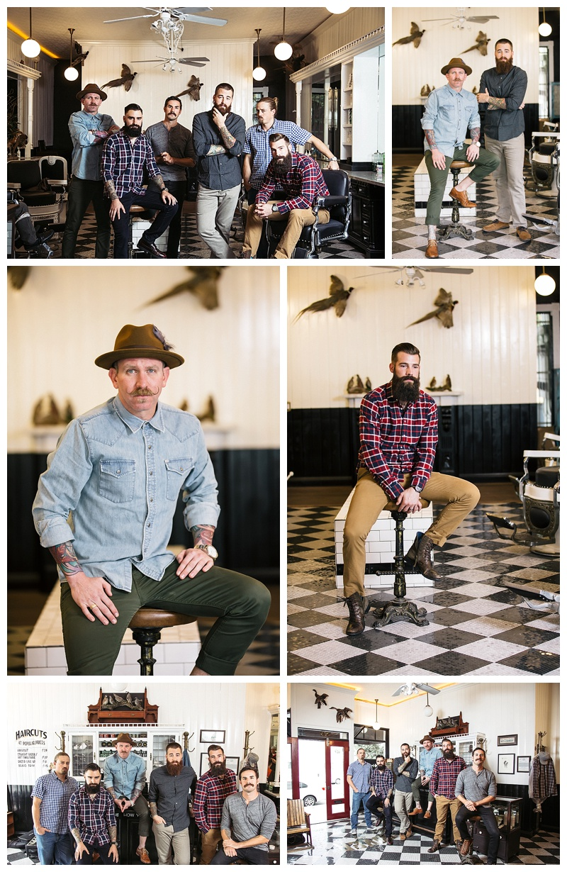Celebrating no shave November at the Dover Honing. Photography by Brogen Jessup